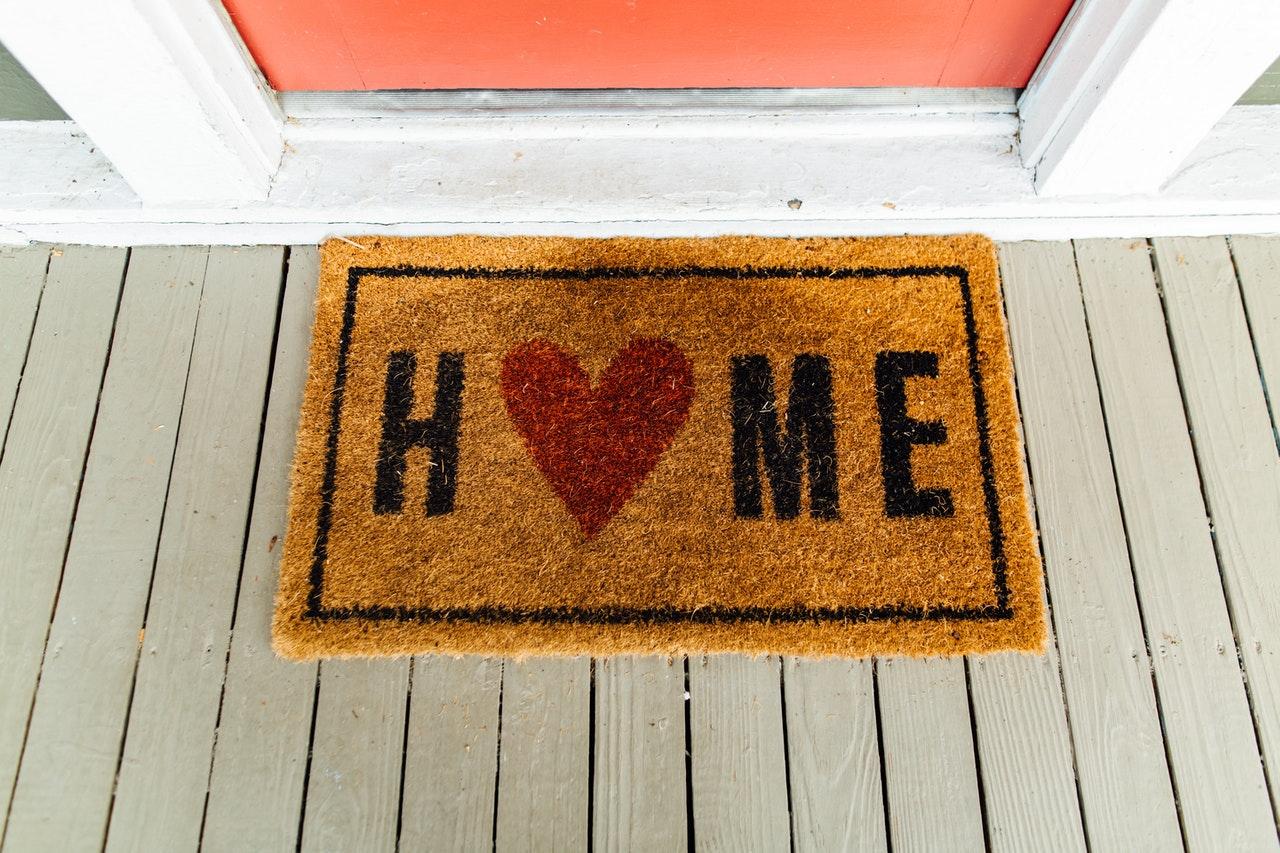 Brown Home Doormat